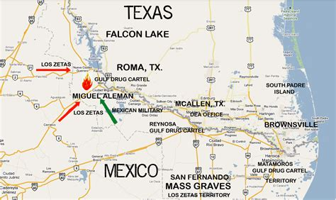 texas mexico border map texas mexico border towns map mexico map