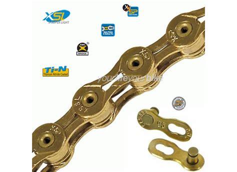cadena mtb kmc x9 kmc x9 sl cadena de oro mtb bicicleta de carreras x9sl
