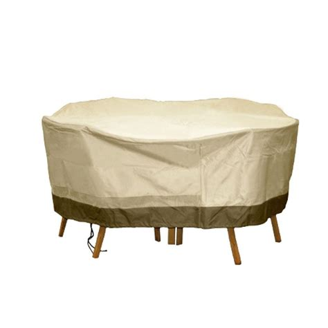 Hearth Garden Polyester Deep Seating Patio Chat Set Patio Table Cover