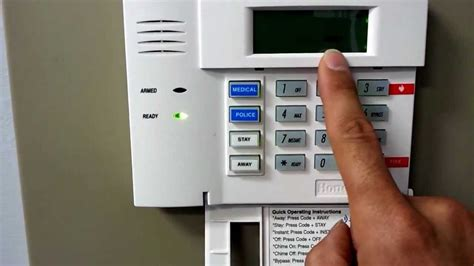 How To Turn Door Chime On Adt Alarm System how to turn chime on or on your honeywell security