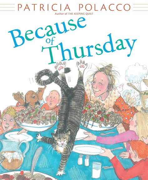 thursdays at eight a novel books because of thursday book by polacco official