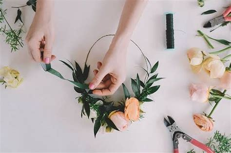 Cheerful Fantasia Flowercrown Flower Crown my 5 tips for a boho baby shower mimetik bcn