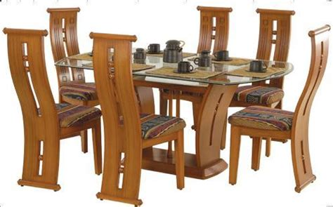 wood dining table designs india