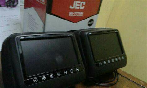 Tv Mobil Sandaran Kepala jual tv mobil monitor headrest layar 7 inci tv sandaran kepala layar 7 inci saudara motor