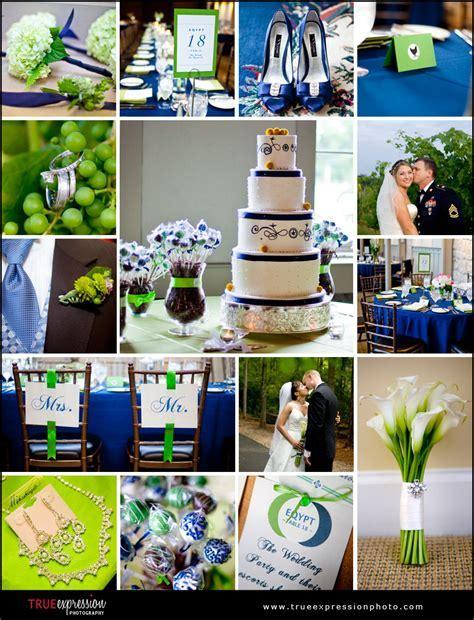 Wedding Ideas: Blue and Green Wedding