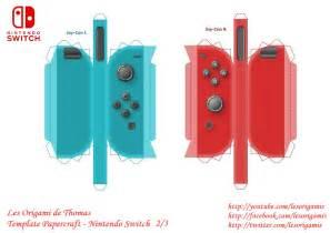 Papercraft Nintendo - nintendo switch