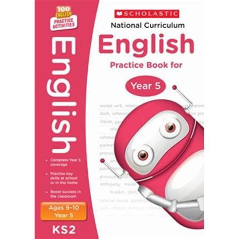 national 5 english practice national curriculum english practice book year 5 by scholastic education books at the works