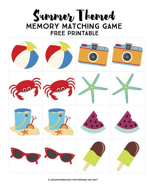 printable memory games memory matching game printable