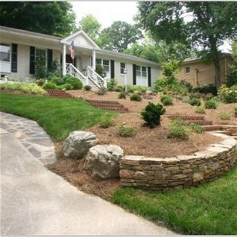 landscaping ideas for sloped backyard sloped backyard landscaping ideas