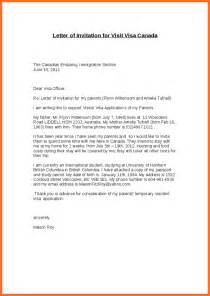 Visa Letter Draft How To Write An Invitation Letter For Immigration