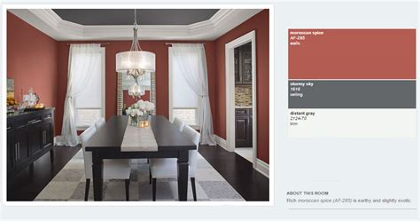 benjamin moore moroccan red benjamin moore 2014 red dining interiors by color