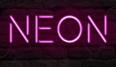 dafont neon how to create a realistic neon light text effect in adobe