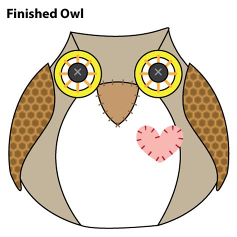 sewing pattern owl pickled tink free owl pattern