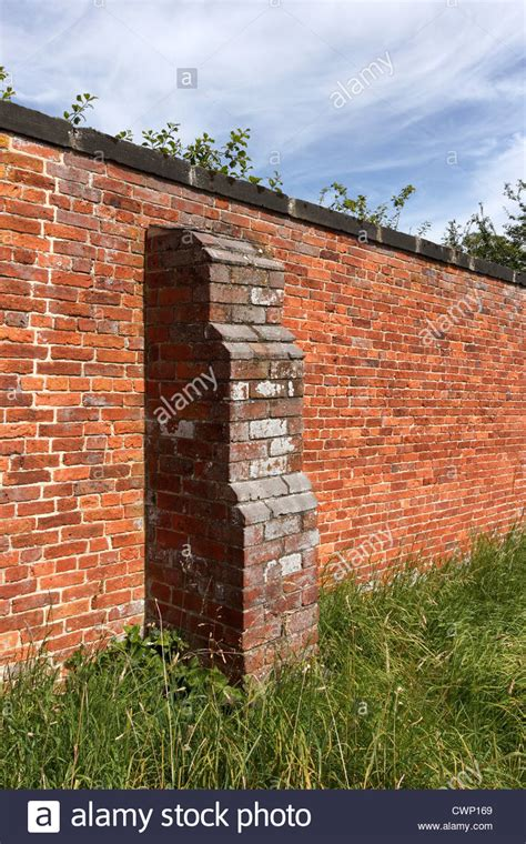 garden wall uk rustic brick garden wall with buttress derbyshire