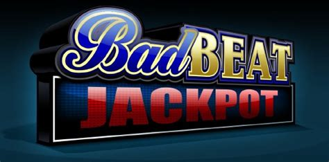 Bad Poker Players Giveaway - new cash game promotion the bad beat jackpot chicago charitable games