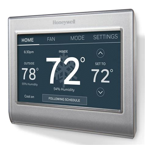 honeywell rth6580wf wi-fi 7-day programmable thermostat user manual