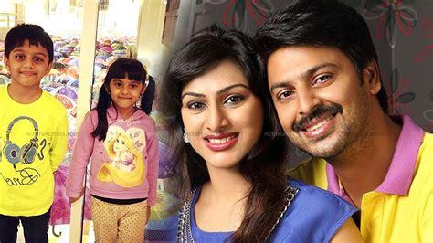 tamil film actress family actor srikanth family photos telugu actor sriram family