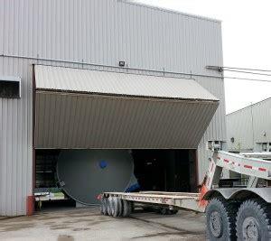 How To Counterbalance A Bi Fold Hangar Door Dan S Garage Garage Door Counterbalance