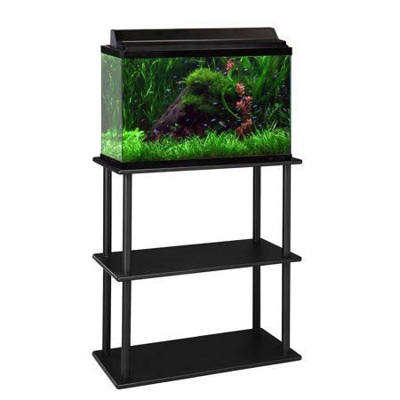 Stand Galon Aqua aquaculture 15 20 gallon aquarium stand walmart