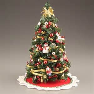 miniature christmas tree traditional miniatures all