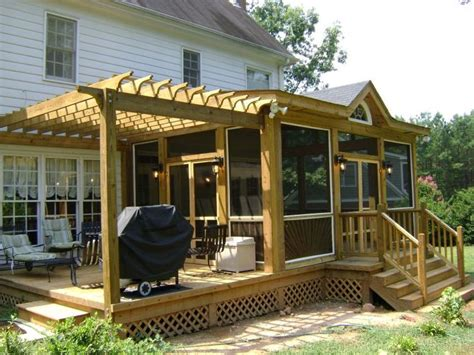 deck pergola ideas best 10 deck construction ideas on building a
