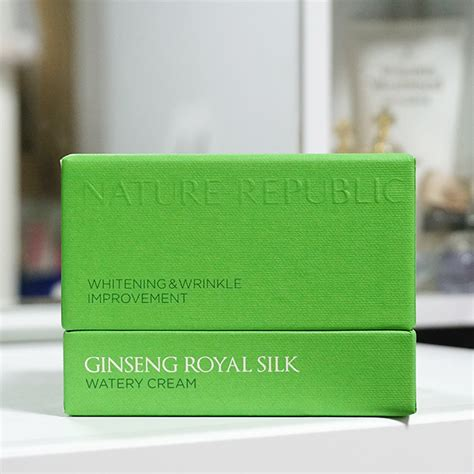 Nature Republic Ginseng Royal Silk Watery 1ml nature republic ginseng royal silk watery review