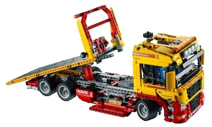 Lepin Porsche Aufkleber by Lego Technic 8109 Tieflader Miwarz De Spielzeug Berlin Teltow