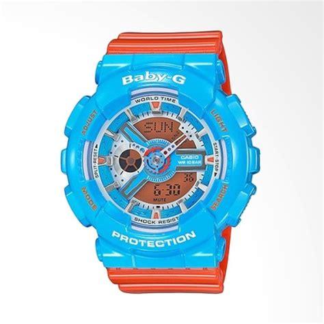 Jam Casio Baby G Ba 110 Blue by Jual Best Price Casio Baby G Ba 110nc 2adr Multifunction