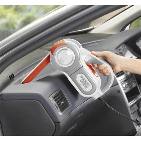 Black Decker Car Vacuum Basic Nv1200avb1 black decker pav1200w 12 volt cyclonic automotive pivoting nose handheld vacuum cleaner