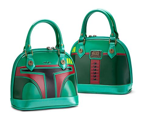 Think Metallic Bags Are Tacky Check Out The Betseyville 24k by Wars Boba Fett Embossed Purse Thinkgeek