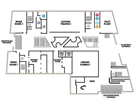 layout uk floor plans the diamond the university of sheffield