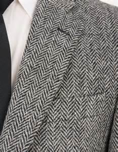 Gray Tweed Santinelli Harris Tweed Sports Jacket Grey Herringbone