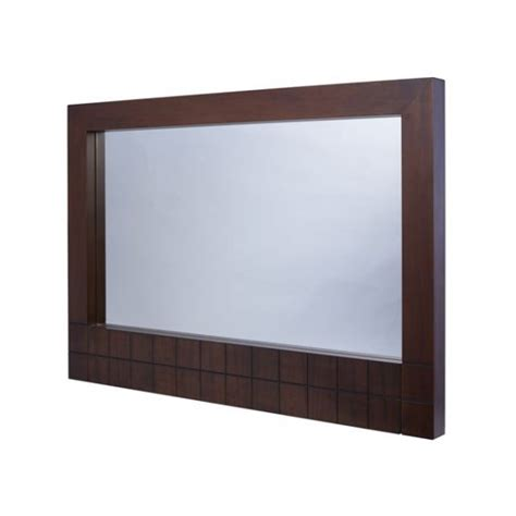 buy gillmore space large walnut wall hanging mirror wood