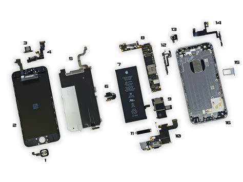 Sparepart Iphone 6 Iphone 6 Parts Diagram