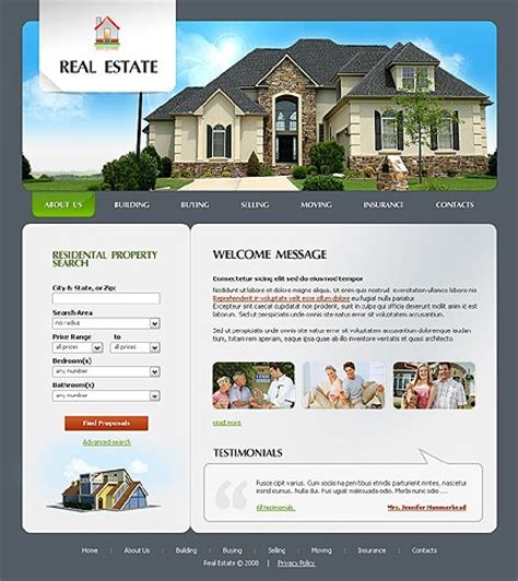 templates for real estate website blog archives olsoftware