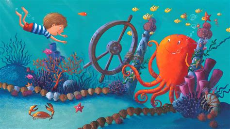 ringo starr octopus garden book ringo starr s octopus s garden waterstones youtube