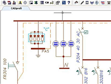 progeplan cadprofi electrical extension for autocad and