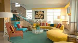 Retro Interior Design 10 Whimsical Modern Retro Interior Design Ideas Https Interioridea Net