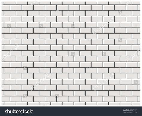brick vector picture brick tile for kitchen cabinets white brick wall subway tile pattern stock vector