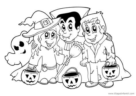 imagenes halloween para niños preescolar dibujos para imprimir y colorear en halloween etapa infantil