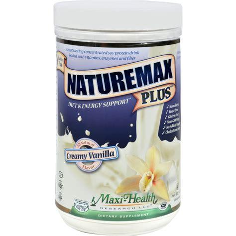 Maxy Vanilla maxi health naturemax plus vanilla 1 lb