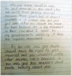 Essay About Same Marriage by Pro Marriage Essay By Fourth Grader Goes Viral The Gossip