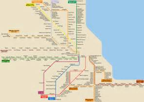 Bnsf Map Chicago by List Of Metra Stations Wikipedia