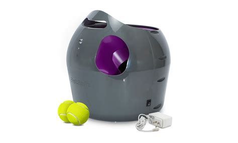 tennis thrower for dogs automatic tennis launcher for dogs by petsafe groupon