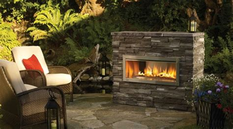Outdoor Ventless Gas Fireplace by Regency Hzo42e Outdoor Modern Gas Fireplace
