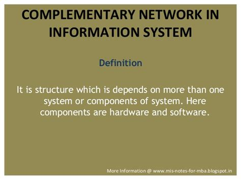 Information Systems Mba Notes by Management Information System Computer Information System