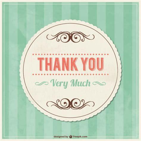 imagenes de gracias vintage tarjeta de agradecimiento vintage con ornamentos