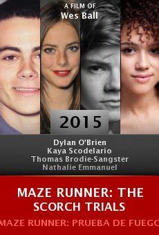 film maze runner the scorch trials 2015 sinopsis maze runner the scorch trials full movie 2015 watch