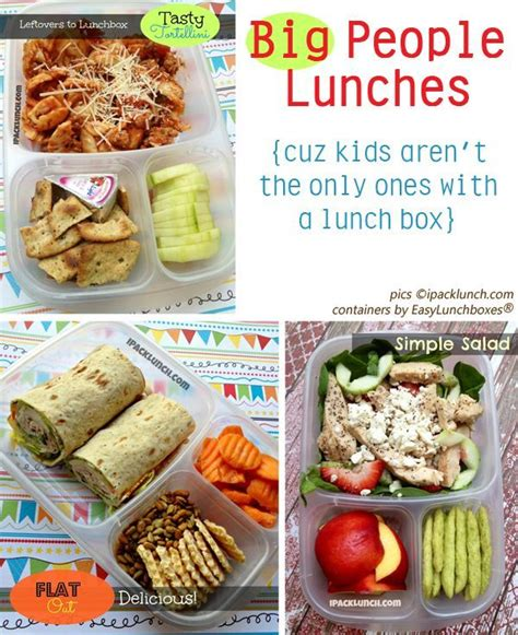 healthy lunch ideas  pack  work