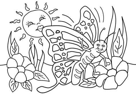 spring coloring sheets pdf coloring pages